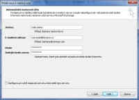 Nastavení Outlooku 3